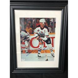 "MARK MESSIER SIGNED 8"" X 10"" FRAMED PHOTO W/ COA"