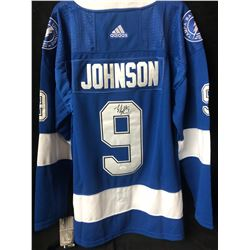 Tyler Johnson Signed Lightning Jersey (JSA COA)