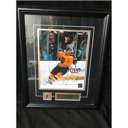 "JOE THORNTON SIGNED 8"" X 10"" FRAMED PHOTO W/ COA"