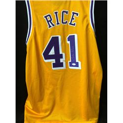 Glen Rice Signed Lakers Jersey (JSA COA)