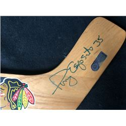 TONY ESPOSITO SIGNED MINI GOALIE STICK