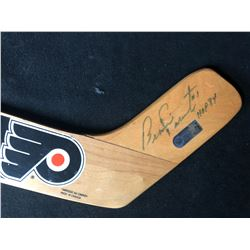 BERNIE PARENT SIGNED MINI GOALIE STICK (HOLO COA)