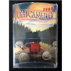 ROYAL CANADIAN MINT OH CANADA 2000 SET NEW FACTORY SEALED