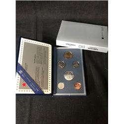 ROYAL CANADIAN MINT CASED 1994    6 COIN  SET