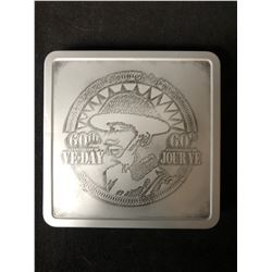 2005 Canada 60th Anniversary of VE Day Proof 5-cent and Medallion Set.  5 cent is .925 SILVER