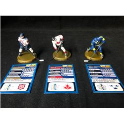 DRAGON IMPORTS NHL FIGURES LOT (WORLD CUP GOLD FIGURES) **RARE**