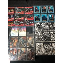 NON SPORTS TRADING CARDS LOT (X-FILES/ TRANSFORMERS/ HARRY POTTER/ CONAN)
