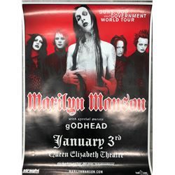 MARILYN MANSON OFFICIAL CONCERT POSTER (VANCOUVER BC)