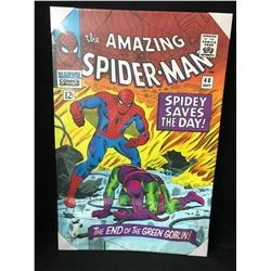 "THE AMAZING SPIDER-MAN #40 CANVAS ART (24"" X 36"")"
