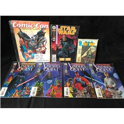 COMIC BOOK LOT (STAR WARS/ BATMAN...)