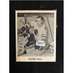 1965-66 Coca-Cola Glenn Hall Hockey Card