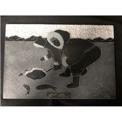12 X 16 INUIT STONE CARVING