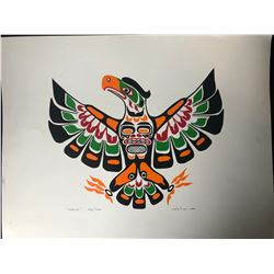 """20 X 24 LIMITED EDITION PRINT SIGNED BY J. NELSON """" EAGLE"""""""