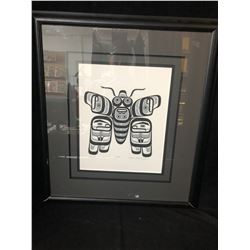 20 X 24 FRAMED LIMITED EDITION PRINT SIGNED BY WILLIAM WASDELL