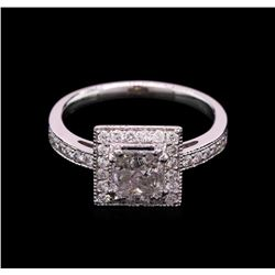 1.07 ctw Diamond Ring - 14KT White Gold