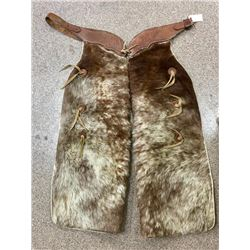 Pair Of Hamley Co Pendleton OR. Hair On Chaps