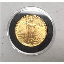 1925 $20 Gold Uncirculated Coin