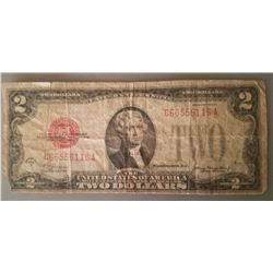 $2 Federal Reserve Note Series 1928 D
