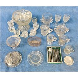 Collection Of Children's Doll Dishes
