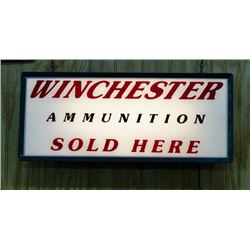Rare Winchester Light Up Advertising Sign