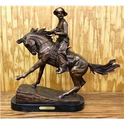 "Bronze ""Cowboy"" F. Remington"