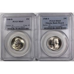 PCGS WASHINGTON QUARTERS