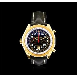 Breitling Chrono-Matic 18KT Rose Gold Men's Watch