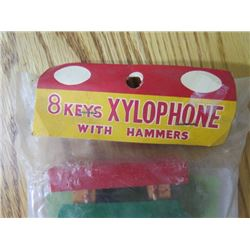 CHILDS XYLOPHONE AND MUSIC (SEALED NEVER OPENED)