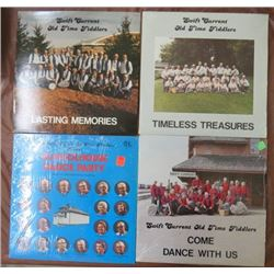 4 ALBUMS (SWIFT CURRENT OLD TIME FIDDLERS)