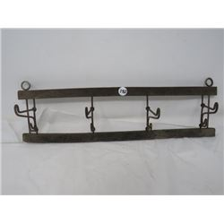 COAT RACK (WOOD/METAL) *COLLAPSIBLE*