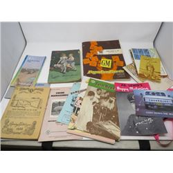 LOT OF ANTIQUE PUBLICATIONS (1932 TO 1958)