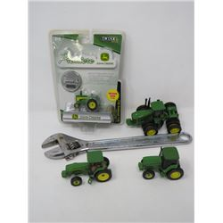 JOHN DEERE COLLECTIBLES (INCL JD CRESCENT WRENCH)