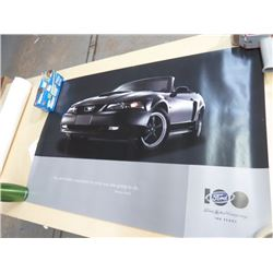 POSTERS (FORD 100TH ANNIV) *LARGE* (EARTH FROM SPACE) *LAMINATED*