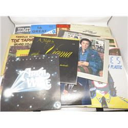 LP RECORDS (QTY 16) 'TENNESSEE ERNIE FORD, APRIL WINE, PAUL ANKA, ETC'