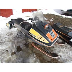 1975 SKIDOO TNT 440 FAN COOLED (HIGH COMPRESSION HEADS)