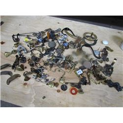 LARGE LOT OVER 100 PIECES (HARDWARE, HANDLES ETC…)