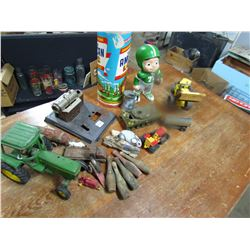 LOT OF ASSORTED TOYS ETC...
