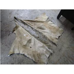 LEATHER CHAPS  (GOOD USED CONDITION)