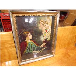 """RELIGIOUS PICTURE (NICE FRAME) *19"""" X 23"""""""
