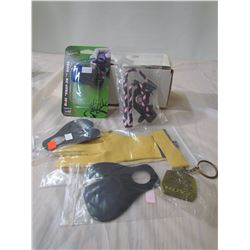 LOT OF 6 HUNTING ACCESSOIRES (PRIMO, HOYT)