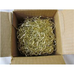 CARTON OF JIG MAKING HOOKS (EAGLE CLAW)  *416 M GOLD QTY 1,000*