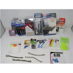 LOT OF 18 ARCHERY ACCESSORIES (GFORCE, LAUNCH PAD, EXCALIBER,