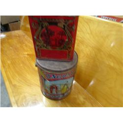LOT OF 2 TINS (BAGDAD & TEA)