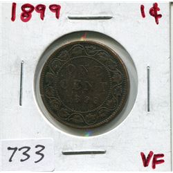 1899 CNDN LARGE 1 CENT PC