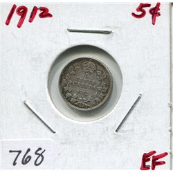 1912 CNDN 5 CENT PC (SILVER)