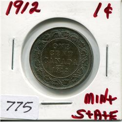 1912 CNDN LARGE 1 CENT PC
