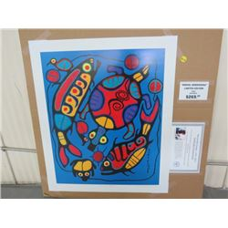 "LIMITED PRINT 'HARMONY IN NATURE' (BY NORVAL MORRISSEAU) *60/950* (18.5"" X 23"")"