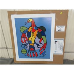 """LIMITED PRINT 'ASTRAL THUNDERBIRD' (BY NORVAL MORRISSEAU) *28/950* (18.5"""" X 23"""")"""