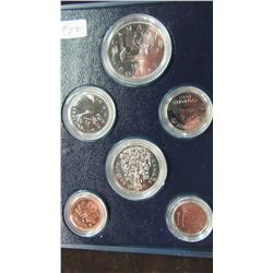 1982 CANADA CASED MINT COIN SET