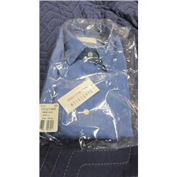 NEW VAN HEUSEN BLUE DRESS SHIRT - CHOICE